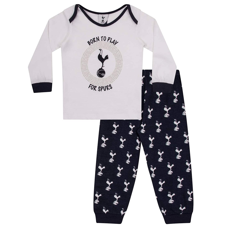 Tottenham Hotspur FC Official Football Gift Boys Kids Baby Pyjamas