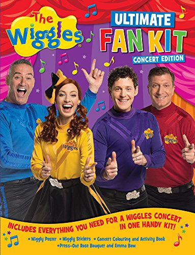 The Wiggles Ultimate Fan Kit Concert - Out Poster Bows