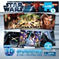 Star Wars 6PK 3D Puzzles