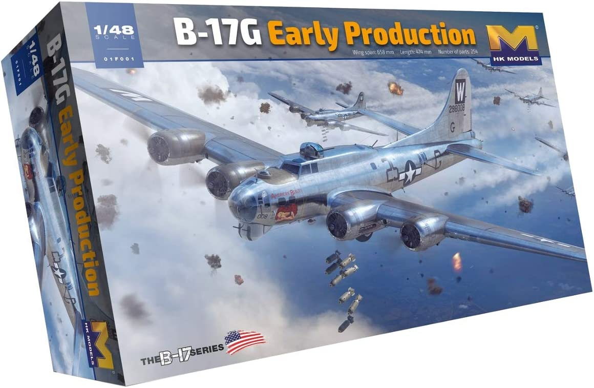 Hong Kong Models 1/48 B-17G Early 01F001
