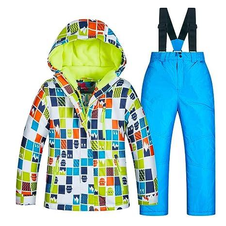 Rawallw-cloth Traje de Nieve con Capucha para niños Traje de ...