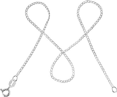 1,5mm modabil/é Damen Kugelkette aus 925 Sterling Silber