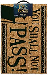 IMPACT Lord of The Rings - You Shall Not Pass Outdoor Doormat
