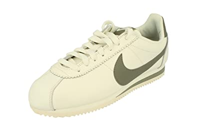 Mens Classic Cortez Leather Trainers, Nero Nike