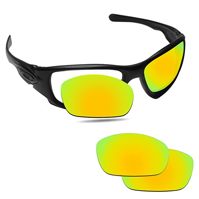 e75dada76e0 Image Unavailable. Image not available for. Color  Fiskr Anti-Saltwater  Replacement Lenses for Oakley Ten X Sunglasses ...