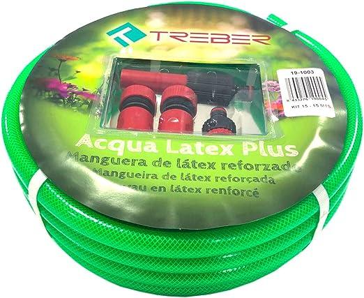 Manguera de Jardín 15 Metros | 15 mm de diametro: Amazon.es: Jardín