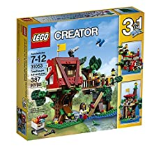 LEGO Creator 31053 Treehouse Adventures Building Kit (387-Piece)