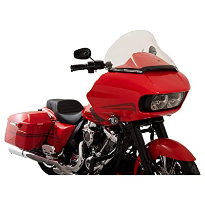 "Klock Werks 15"" Clear Pro-Touring Flair Windshield for 2015 & Newer Harley-Davidson Road Glide models: Automotive"