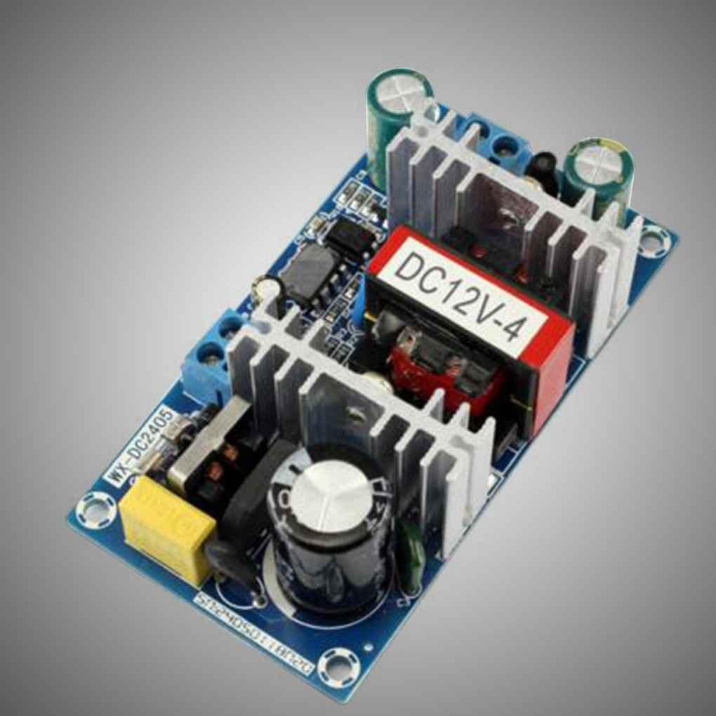 Censhaorme 50W AC 100V-240V zu DC 12V 4A Schalter Stromversorgungsmodul AC-DC Low Ripple Industrie-Netzteil Bare Vorstand