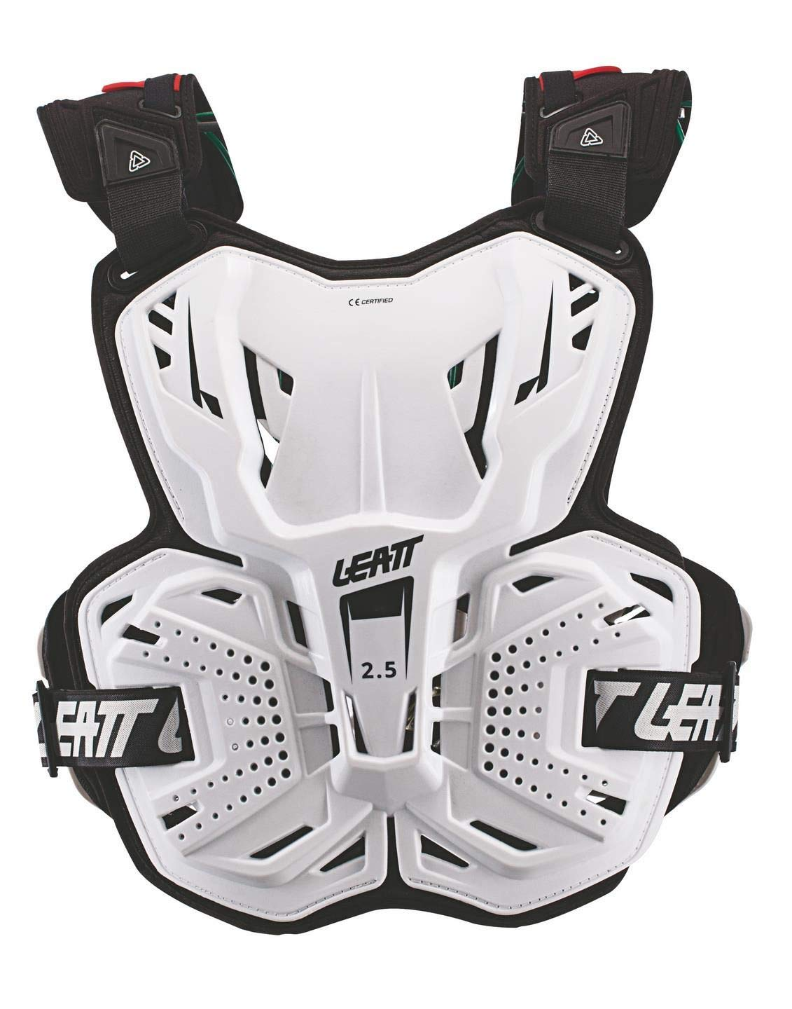 Leatt Unisex-Adult Chest Protector (White,Adult)