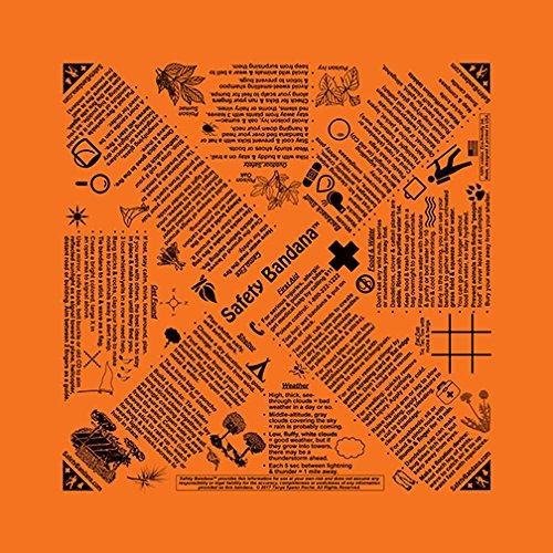 The Original Safety Bandana (Orange) (Bandana Safety)