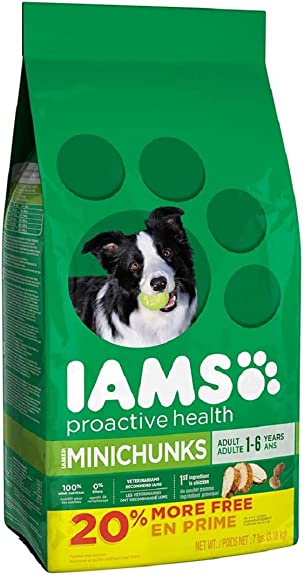 Iams Proactive Health Adult Minichunks Dry Dog Food 5.7 Pound
