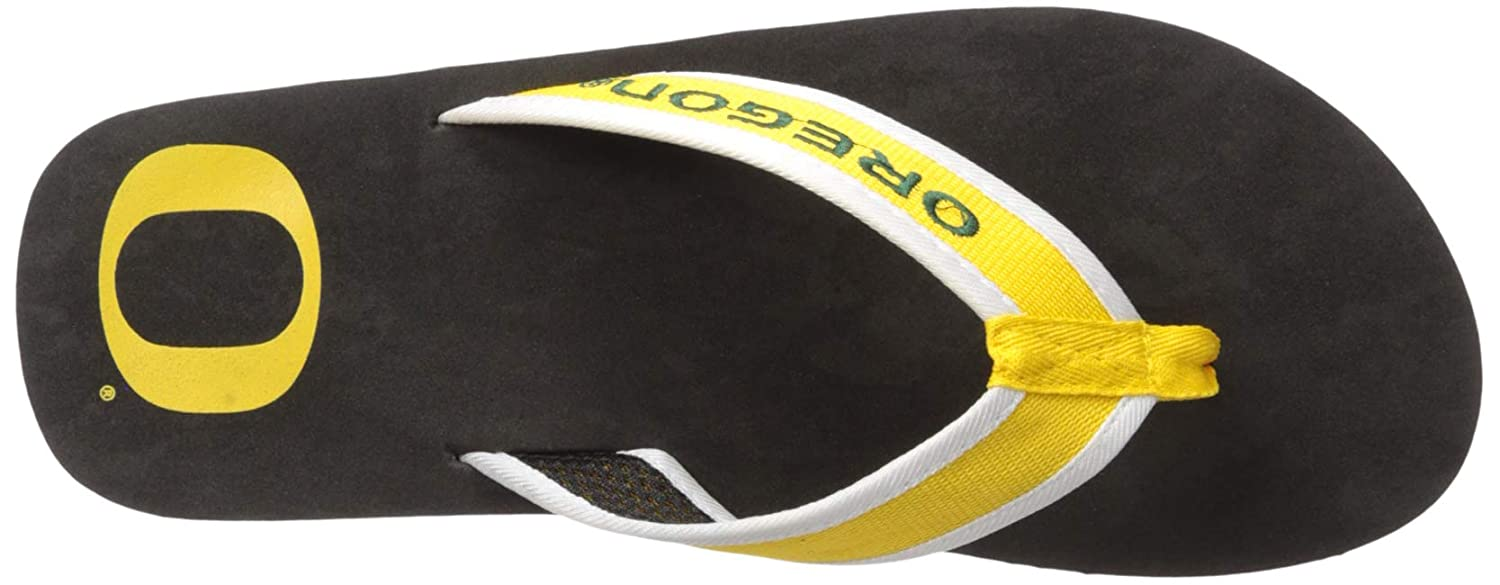 NCAA Oregon Ducks Mens Contour Flip Flop X-Large Green