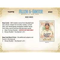 $140 » 2021 Topps Allen & Ginter Baseball Hobby Box (24 Packs/8 Cards: 3 Hits)