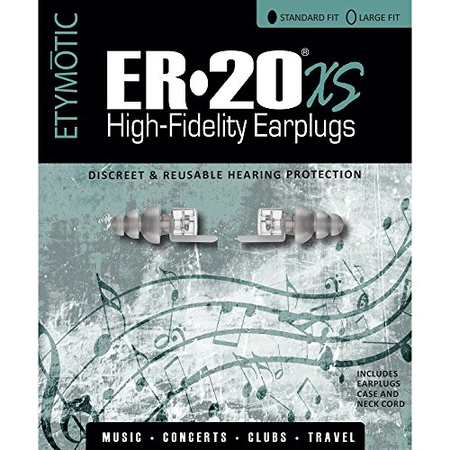 Etymotic High-Fidelity Earplugs, ER20XS Standard Fit, 1 pair, Polybag Packaging by Etymotic Research (Image #5)