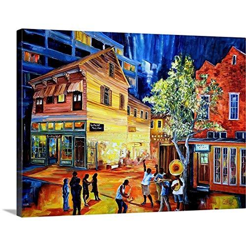 Frenchmen Street New Orleans Canvas Wall Art Print, 24