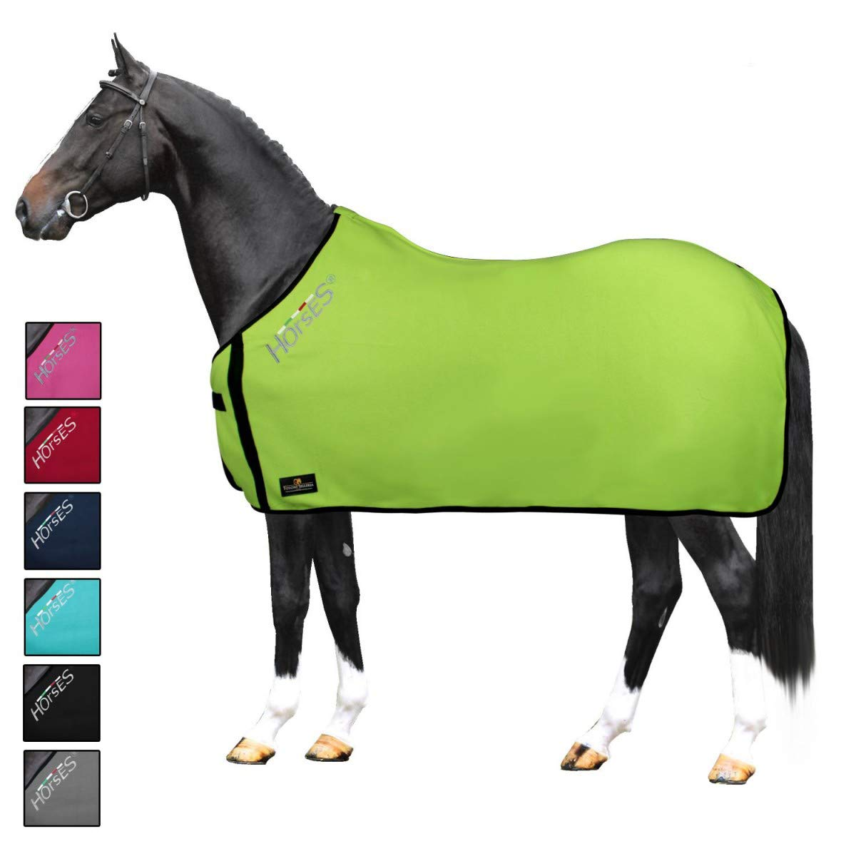 Horses Coperta Pile Basic