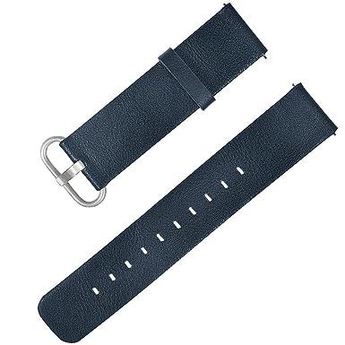Darringls_Correa para reloj,Para xiaomi mijia Pulsera de Reloj de Cuero Pulsera de muñequera para Correas de Reloj Inteligente Pulseras de Repuesto: ...