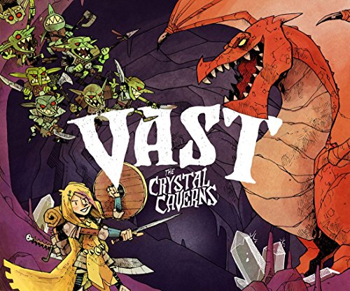 Vast The Crystal Caverns Board Game [Leder Games] by Leder Games
