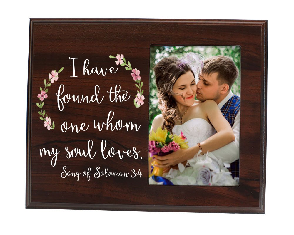 Elegant Signs I Have Found The One Whom My Soul Loves Picture Frame Gift For Her Gift For Him Wedding Gift Bridal Shower Gift