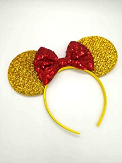 Honest New Grey Clip On Mouse Ears Costumes, Reenactment, Theater Other Costume Accessories
