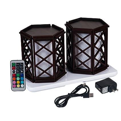 Amazoncom HEROLED TBCGPA Restaurant Table Lighting Wireless - Rechargeable restaurant table lights