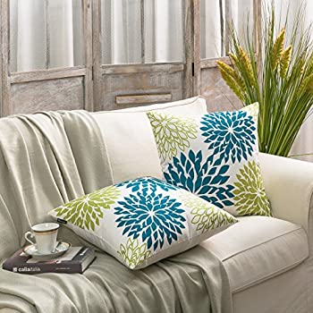 Amazoncom PHANTOSCOPE New Living BlueGreen Decorative Throw