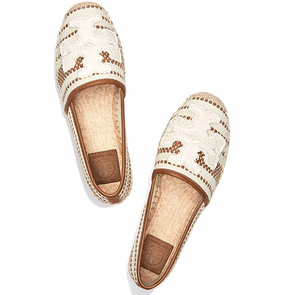 4fb70ac41 Tory Burch Shaw Espadrille, Lt Natural/Royal Tan (6): Amazon.co.uk: Shoes &  Bags