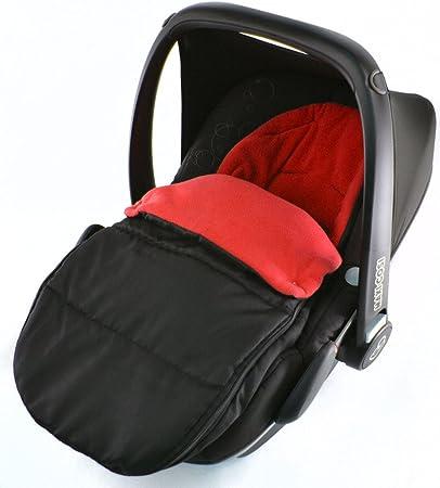 Saco de dormir para asiento de coche compatible con Kiddy Evolution Pro New born Car Seat Fire Red