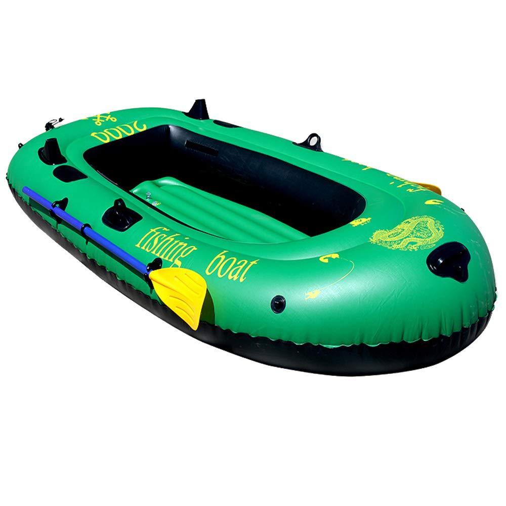 単一のカヤックは耐久のゴム製ボートの屋外の挑戦者の膨脹可能なボートを厚くしました   B07PNH8FRX