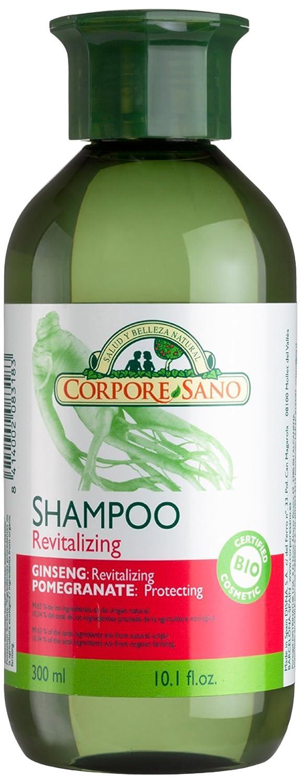 Corpore Sano Champú Revitalizante Ginseng - Granada 300 ml: Amazon.es: Salud y cuidado personal