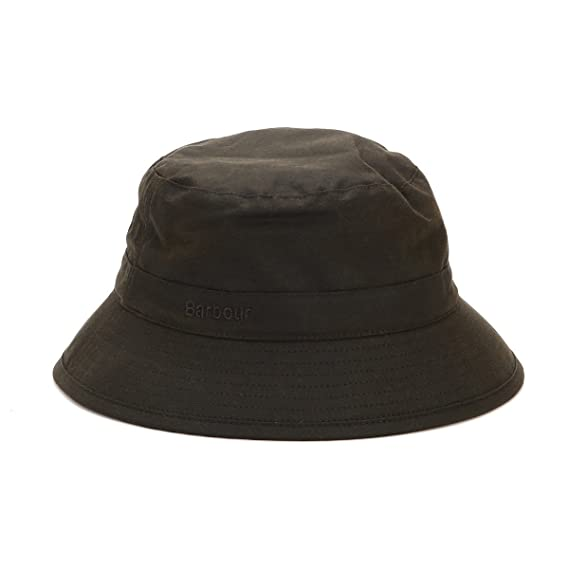 2f5428577be Barbour Men s Waxed Sports Hat - Olive  Amazon.co.uk  Clothing