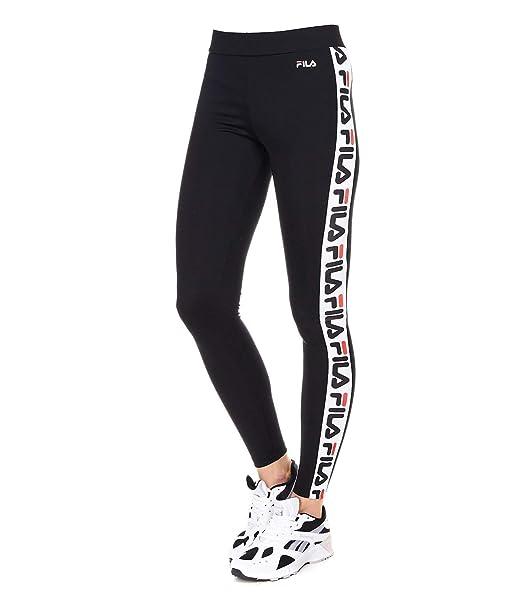 Fila Femme 682122002 Noir Polyester Leggings: