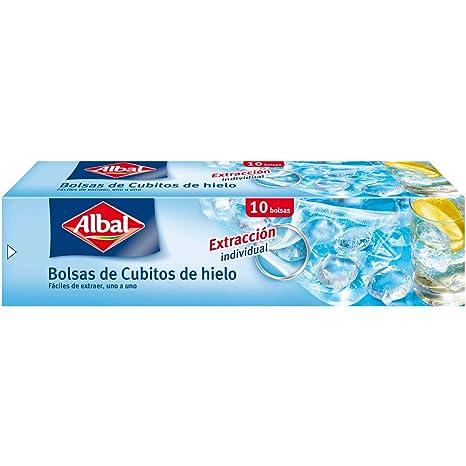 Albal Bolsas Cubitos de Hielo, Tamaño Pequeño - 10 Unidades ...