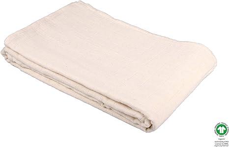 Feldman Organic - Manta para bebé (100% algodón orgánico, 120 x 120 cm), diseño de lunares: Amazon.es: Bebé
