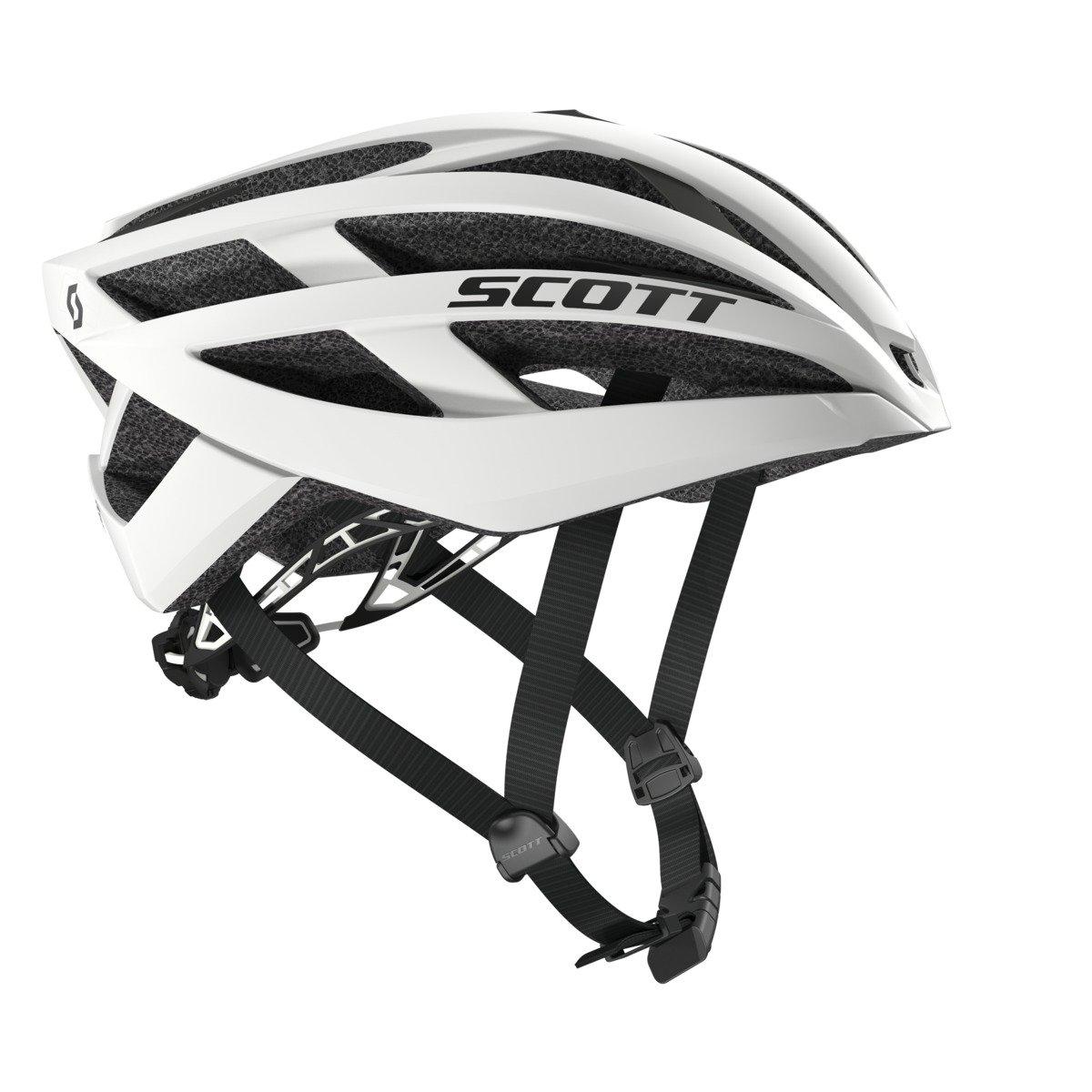 SCOTT(スコット) ヘルメット 自転車用ヘルメット Wit-R (CE) ホワイトマット M/55-59cm  B011CGM83C