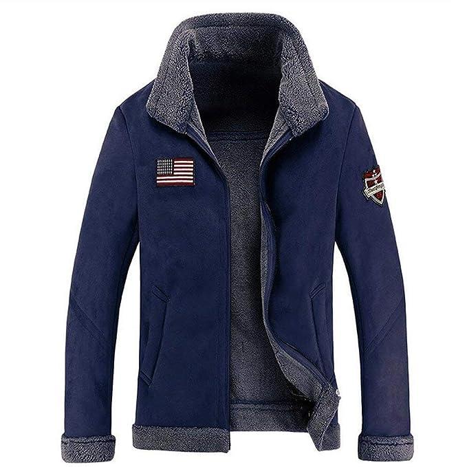 BOLAWOO Abrigo De Hombre Abrigo De Lana Gamuza De De Invierno Abrigo De Mode De Marca