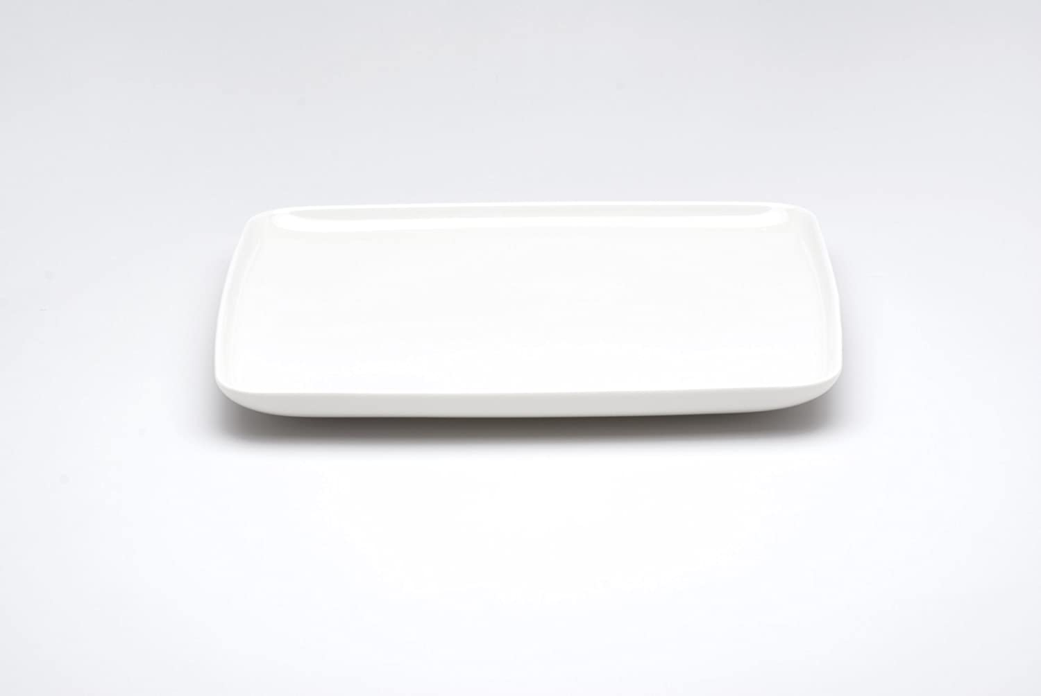 Amazon.com Red Vanilla Everytime White Rectangular Dinner Plate Kitchen u0026 Dining & Amazon.com: Red Vanilla Everytime White Rectangular Dinner Plate ...