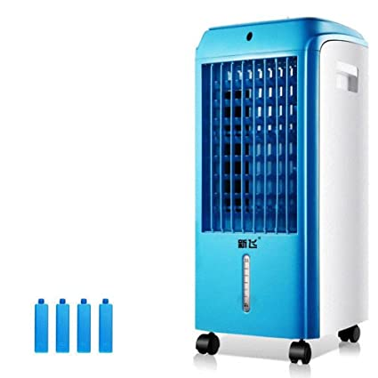 detailed pictures 149eb 8107d SL LFJ Air conditioning fan with remote control, Cooling dual-use  refrigerator home desktop air cooler evaporative coolers-A  Amazon.co.uk   Kitchen   Home