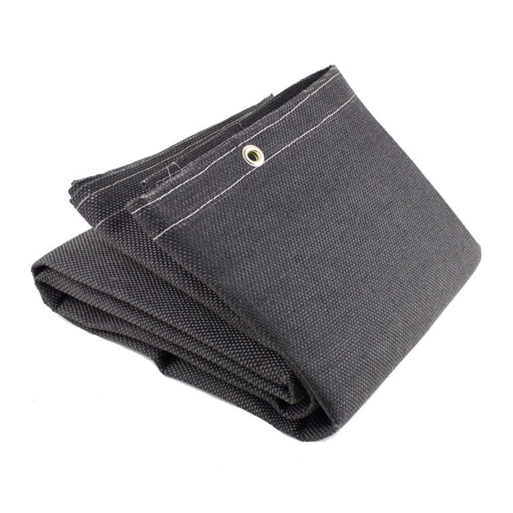 Sellstrom S97616 Welding Blanket - 25 oz Vermiculite Coated Fibreglass - 6'x6' - Black by Sellstrom