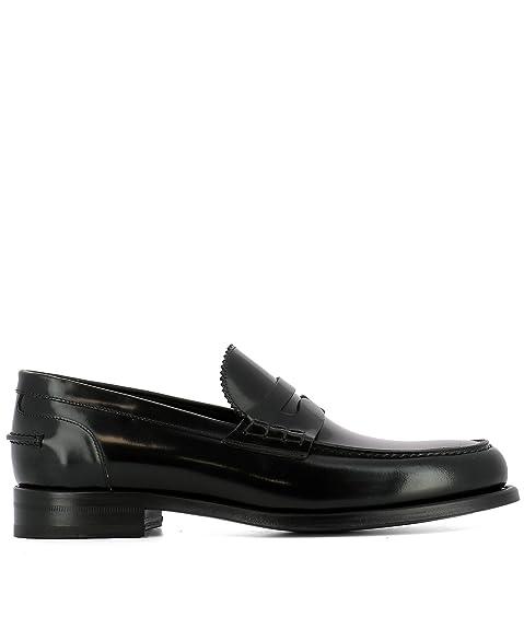 J. Wilton - Mocasines para Hombre Negro Negro IT - Marke Größe, Color Negro, Talla 40.5 IT - Marke Größe 40.5: Amazon.es: Zapatos y complementos