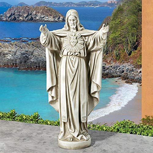 Design Toscano LY712152 Sacred Heart of Jesus, Antique ()