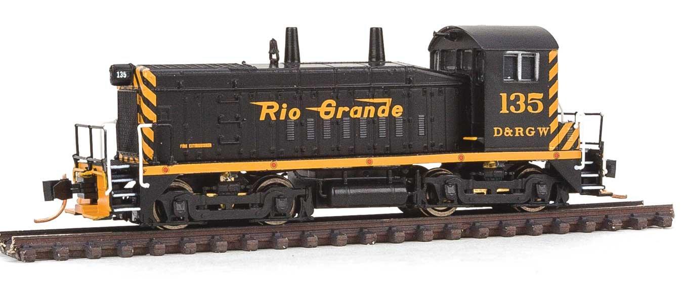 WALTHERS Spur N - Diesellok EMD SW1200 Denver & Rio Gründe Western