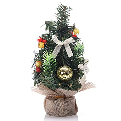 Amazon Com Hemore Christmas Decorations Mini Christmas Tree Desktop