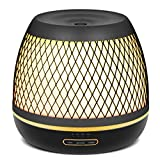 Appliances : InnoGear 2018 Premium 500ml Aromatherapy Essential Oil Diffuser with Iron Cover Ultrasonic Diffuser Classic Stlye Cool Mist Humidifier with 7 Colorful Night light for Home Bedroom Baby Room Yoga Spa