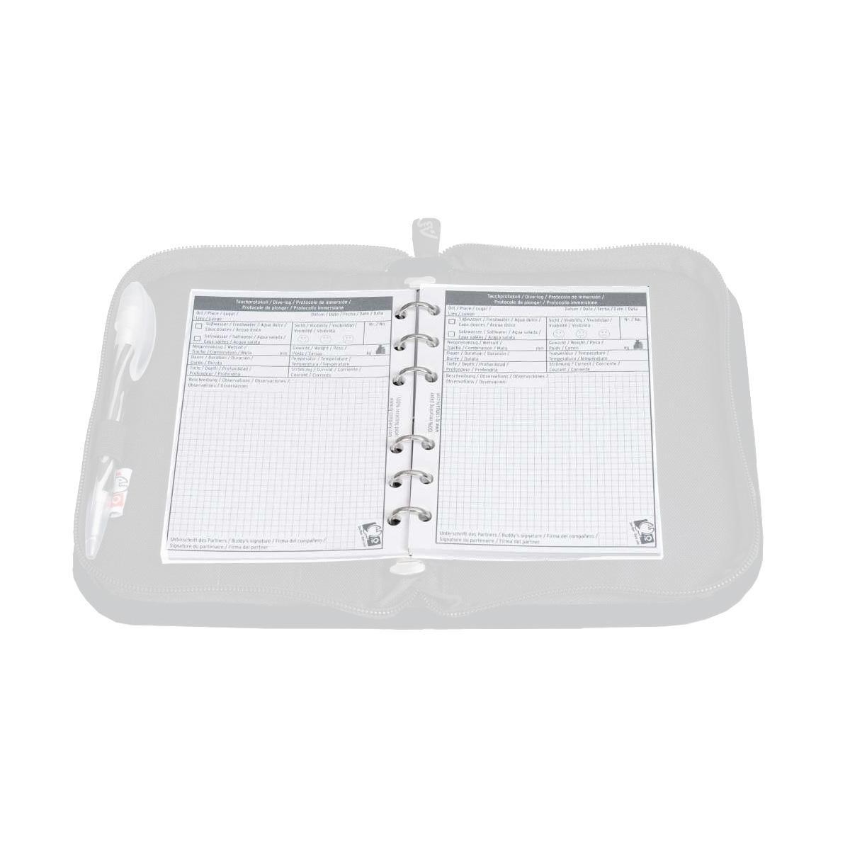 Taglia Unica Diario di Bordo Aziendale Refill XS Unisex-Adulto IQ-Company 4301253301-OS 1 Dive per Page