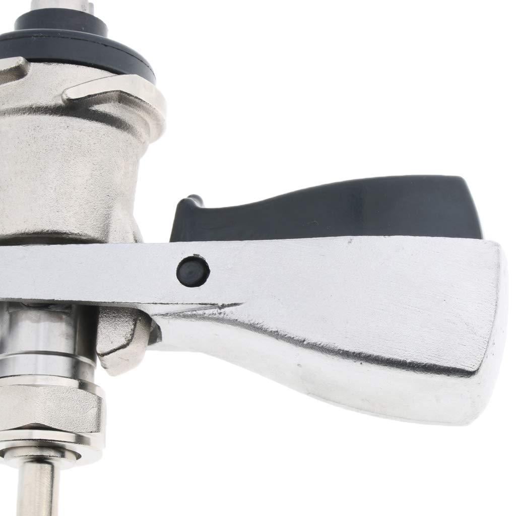 KESOTO Adattatori per Fusto da Birra Tipo S Bass Adattatori di Accoppiamento per Rubinetto Tipo S per Birra