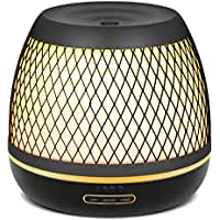 InnoGear Premium 500ml Aromatherapy Essential Oil Diffuser with Iron Cover Ultrasonic