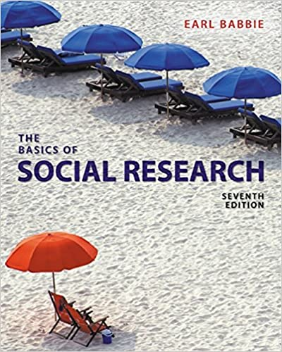 The Basics Of Social Research Earl R Babbie 9781305503076
