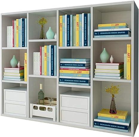 Bookcase 5 Shelves Cube Sideboard Storage Shelf System Wooden Stand Furniture